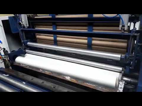Fully Automatic Toilet Tissue Roll Making Machine