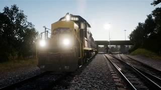 VideoImage1 Train Sim World®: CSX GP40-2 Loco Add-On