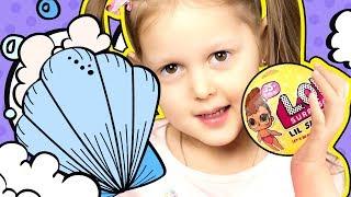 LOL Сумкка ЛОЛ Делаем бомбочки LOL Fiz Питомцы ЛОЛ и Мегамаркет сюрпризов LOL Видео для детей