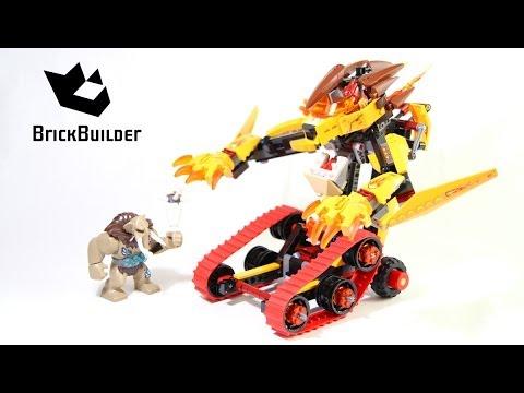 Vidéo LEGO Chima 70144 : Le Tank Lion de feu de Laval
