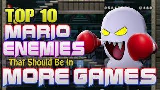 Top 10 Mario Enemies That Should Be in More Games