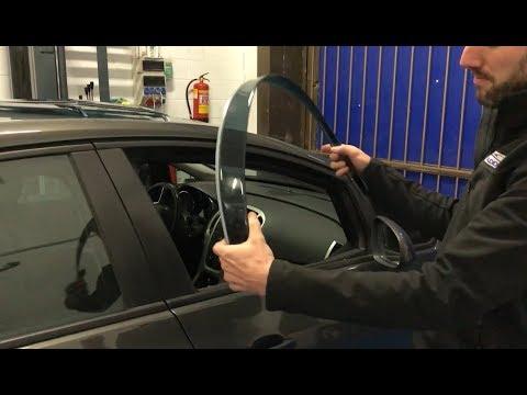 Como instalar Derivabrisas Deflectores en el coche