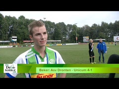 VIDEO | Martijn Timmer en Asv Dronten tanken vertrouwen tegen Unicum: 4-1 winst