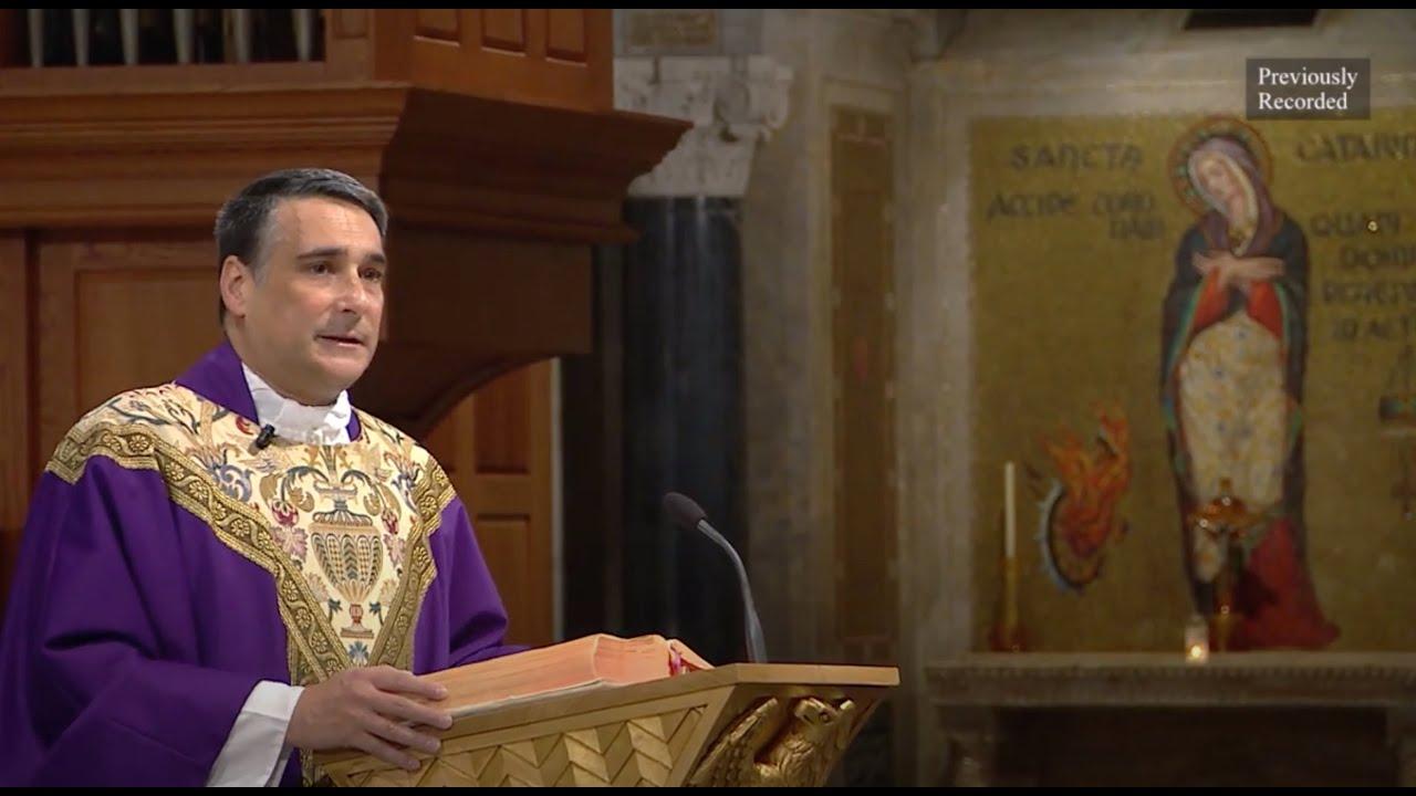 Catholic Sunday Mass 21 February 2021 By Basilica of the National Shrine – First Sunday of Lent