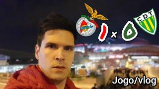 E DE REPENTE... BUM!!! Benfica X Tondela Jogo/VLOG