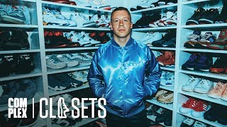 Macklemore Shows Off His Never Before Seen Jordan Collabs On Complex Closets
