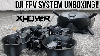DJI Digital FPV System Unboxing & 2 NEW XHOVER Drones!