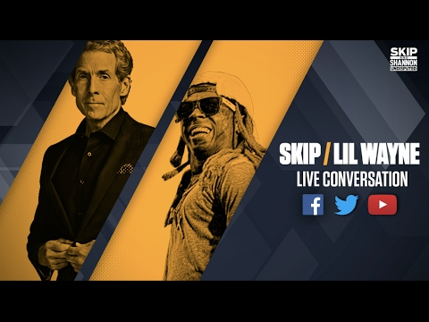 Skip Bayless interviews Lil Wayne (Streamed Live on 4/21/17) | UNDISPUTED