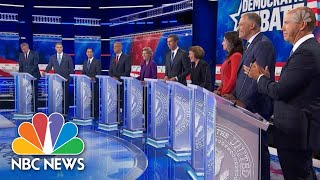 Watch Highlights From Round 1 Of The First Democratic Debate   NBC News