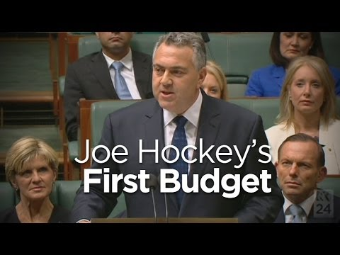 Watch The Federal Budget Speech In Full Here