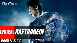 """Raftaarein"" Song With Lyrics   Ra.One   Shahrukh Khan"