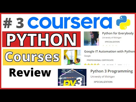 Best PYTHON Coursera Course [Review] 2021 | Top 3 Coursera ...