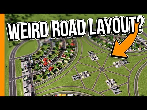 IS THIS ROAD LAYOUT WEIRD?! // Cities: Skylines Campus - Part 3