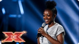 Rai Elle Williams Goes Big On Bridge Over Troubled Water | Six Chair Challenge | The X Factor 2017