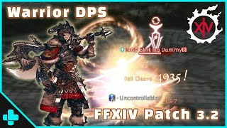 Ffxiv Hw Warrior Dps Rotation 1302 Dps 2min 48s A8s Sss