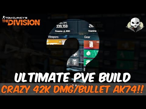 The Division 1.6.1 - The ULTIMATE PVE Build - DESTROYING Legendary & Heroic Missions!!