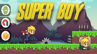 Super Boy – Full Buildbox Project