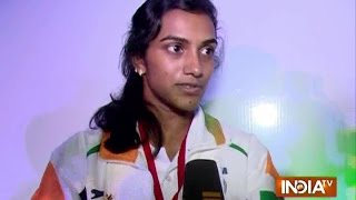 Badminton Player PV Sindhu Exclusive Interview Before Rio Olympics 2016