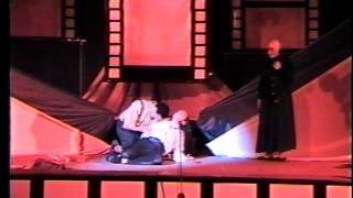 """فاوست """"السعيد منسى"""" ... مسرحية فاوست والاميرة الصلعاء ... اخراج فريد يوسف"""