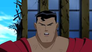 Superman Vs. Darkseid In Metropolis