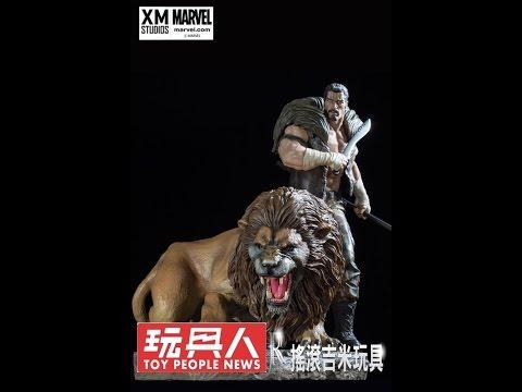搖滾吉米玩具-XM STUDIOS 獵人 Kraven 1/4雕像 開箱影片