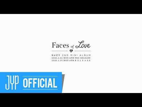 SUZY 2ND MINI ALBUM [Faces of Love] : Prequel