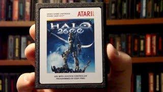 LGR - Halo 2600 - Atari 2600 Game Released in 2010!