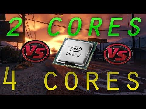 Dual Core vs Quad Core CPU Comparison 2018