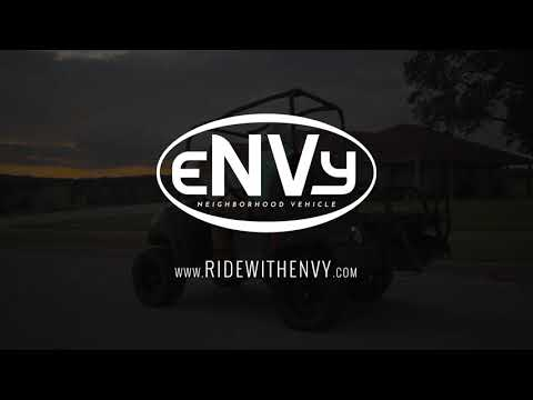 2021 eNVy  ELECTRIC VEHICLE 4 PERSON in Amarillo, Texas - Video 1