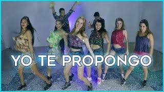 YO TE PROPONGO   Rombai | Coreografía Con Youtubers + Guerra De Espuma !