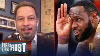 Blazers Have Absolutely No One To Guard LeBron James — Chris Broussard | NBA | FIRST THINGS FIRST