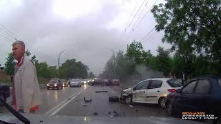 ДТП Новороссийск Анапское шоссе 16.05.2017 19:25