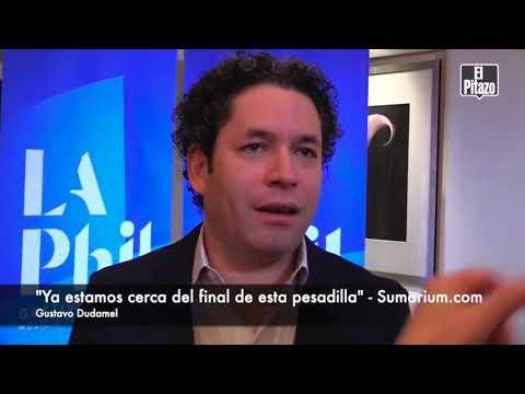 """Dudamel confia en poder regresar """"muy pronto"""" a su natal Venezuela."""