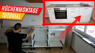 Küchenmontage, Küche aufbauen von A-Z, Zeitraffer Tutorial, Kitchen Assembly