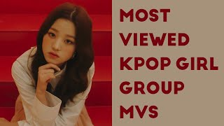 MOST VIEWED KPOP GIRL GROUP MUSIC VIDEOS (August 2020)