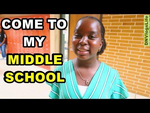 Middle School Orientation | 6th Grade | DNVlogsLife