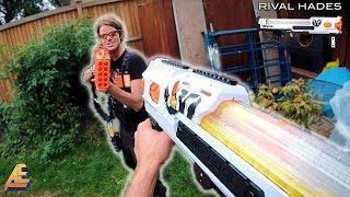 NERF WAR | TACTICAL GEAR FIRST PERSON SHOOTER! (Aaron Vs Drac)