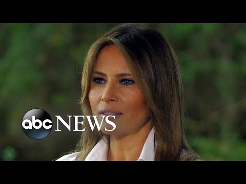 First lady Melania Trump on immigration, family separation and 'the jacket' (NIGHTLINE)