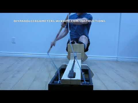 Build Your Own Paddle/Kayak Ergometer