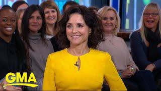Julia Louis-Dreyfus talks about her recent breast cancer battle live on 'GMA' | GMA