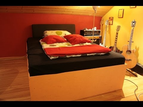 Wie baut man sich ein Bett selbst