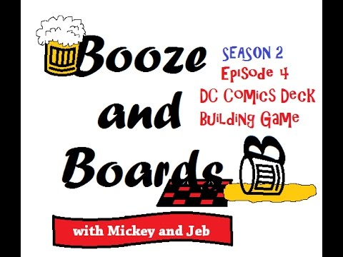 DC Comics Deck-Building Game - Intro/Gameplay/Review by BnB
