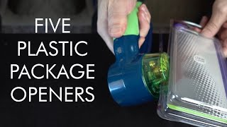 Hard to Open Plastic Packages? Testing 5 Package Openers!