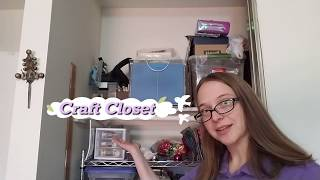 Exploring the Organized Craft Closet