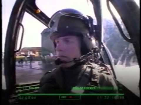 Подготовка армейских пилотов вертолетов
