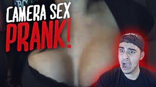 CAMERA SEX PRANK!!