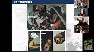 V.E. Schwab Shades of Magic Comics Panel
