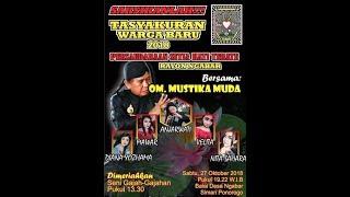 "Live Music ""MUSTIKA MUDA PRODUCTION"" Dalam Rangka Tasyakuran Warga Baru PSHT Tahun 2018 Rayon Ngabar"