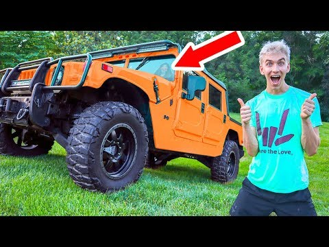 WE BOUGHT AN ARMY TRUCK!!