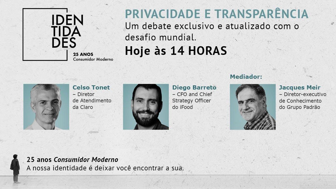 PRIVACIDADE e TRANSPARÊNCIA: Debate Exclusivo